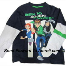 For Boys Who Are Great Fans Of Ben 10. (You Can Mention Size Required/Age Of Kid In The