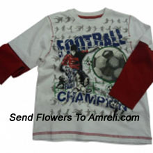 For Boys Who Love Football. (You Can Mention Size Required/Age Of Kid In The