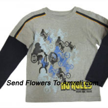 A Trendy T-Shirt For Boys. (You Can Mention Size Required/Age Of Kid In The
