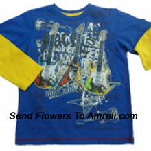 "productA Trendy T-Shirt For Your Rockstar. (You Can Mention Size Required/Age Of Kid In The ""Special Request To Florist"" Column Which Will Appear During The Shopping Process)"