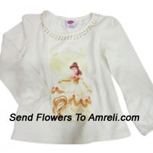 A Trendy Top For Your Girl. (You Can Mention Size Required/Age Of Kid In The