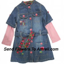 A Cute Dress For Your Princess. (You Can Mention Size Required/Age Of Kid In The