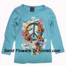 "productA Trendy Top For Your Girl. (You Can Mention Size Required/Age Of Kid In The ""Special Request To Florist"" Column Which Will Appear During The Shopping Process)"