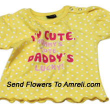 Delight Your Little Angel With This Cute Top. 100 % Cotton. (You Can Mention Size Required/Age Of Kid In The