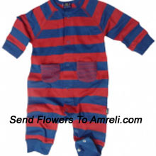 """productAn Exclusive Designer Jump Suit For Your Little One. (You Can Mention Size Required/Age Of Kid In The """"Special Request To Florist"""" Column Which Will Appear During The Shopping Process)"""