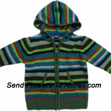 """productA Stylish Jacket For Your Kid. (You Can Mention Size Required/Age Of Kid In The """"Special Request To Florist"""" Column Which Will Appear During The Shopping Process)"""