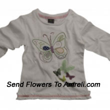 """productDelight Your Little Angel With This Cute Top. 100 % Cotton. (You Can Mention Size Required/Age Of Kid In The """"Special Request To Florist"""" Column Which Will Appear During The Shopping Process)"""