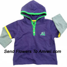 """productConvey Your Blessings To Your Little Champ With This T-Shirt. (You Can Mention Size Required/Age Of Kid In The """"Special Request To Florist"""" Column Which Will Appear During The Shopping Process)"""