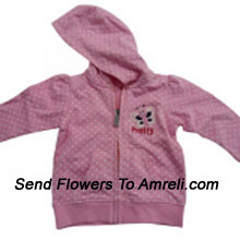 "productA Stylish Jacket For Your Baby (You Can Mention Size Required/Age Of Kid In The ""Special Request To Florist"" Column Which Will Appear During The Shopping Process)"