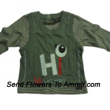 """productA Cute Cartoon Character T-Shirt For Your Baby (You Can Mention Size Required/Age Of Kid In The """"Special Request To Florist"""" Column Which Will Appear During The Shopping Process)"""