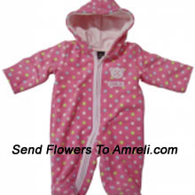 "productAn Exclusive Designer Jump Suit For Your Little One. (You Can Mention Size Required/Age Of Kid In The ""Special Request To Florist"" Column Which Will Appear During The Shopping Process)"