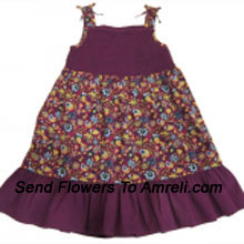 "productAn Exclusive Frock For Your Angel. (You Can Mention Size Required/Age Of Kid In The ""Special Request To Florist"" Column Which Will Appear During The Shopping Process)"