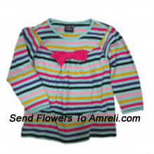 """productA Cute Desgner Top For Your Angel. (You Can Mention Size Required/Age Of Kid In The """"Special Request To Florist"""" Column Which Will Appear During The Shopping Process)"""