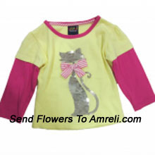 "productA Cute Top For Your Little Baby Girl. (You Can Mention Size Required/Age Of Kid In The ""Special Request To Florist"" Column Which Will Appear During The Shopping Process)"