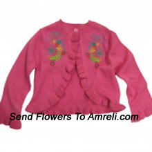 """productA Sweater For Your Angel. (You Can Mention Size Required/Age Of Kid In The """"Special Request To Florist"""" Column Which Will Appear During The Shopping Process)"""