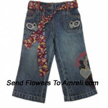 """productA Trendy Bottom For Your Angel. (You Can Mention Size Required/Age Of Kid In The """"Special Request To Florist"""" Column Which Will Appear During The Shopping Process)"""