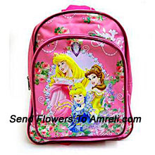 A Cute Disney World School Bag ( The Color Of The Bag May Vary Subject To The Availability )