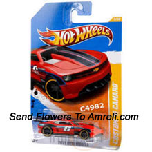 A Hot Wheels Car For Your Little One ( The Color Of The Car May Vary Subject To The Availability )