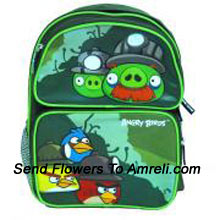 Angry Birds A Game Well Known To Both Adults And Children. For Children Who Are Big Fans Of Angry Birds Now Its Time To Go To School With Your Angry Birds Bag ( The Color Of The Bag May Vary Subject To The Availability )