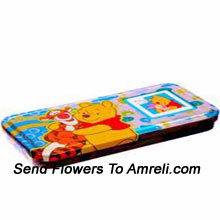 A Disney World Pencil Box For Your Little One ( The Color Of The Pencil Box May Vary Subject To The Availability )