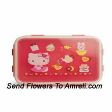 productA Hello Kitty Lunch Box For Your Little One To Ensure They Enjoy Their Meal At School ( The Color Of The Lunch Box May Vary Subject To The Availability )
