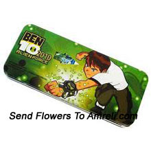productA Ben 10 Pencil Box For Your Little Ones ( The Color Of The Pencil Box May Vary Subject To The Availability )