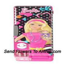 productA Barbie Doll Pencil Box For Your Little Princess ( The Color Of The Pencil Box May Vary Subject To The Availability )