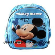 productA Mickey Mouse School Bag For Your Littles Ones ( The Color Of The Bag May Vary Subject To The Availability )
