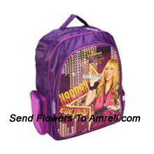 productA School Bag For Children Who Are Big Fans Of Hannah Montana ( The Color Of The Bag May Vary Subject To The Availability )