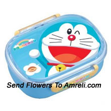 productA Lunch Box For Children Who Are Big Fans Of A Cartoon Character Doraemon ( The Color Of The Lunch Box May Vary Subject To The Availability )