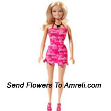 productTrendy Barbie Doll. This Is An Amazing Looking Barbie Doll Wearing A Trendy Skirt. For Children Above 3 Years Of Age.