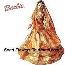 Wedding Barbie Doll. This Barbie Can Be An Appropriate Playmate For Your Little Princess. For Children Above 3 Years Of Age.