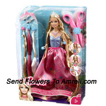 Cute And Style Barbie.For Children Above 3 Years Of Age