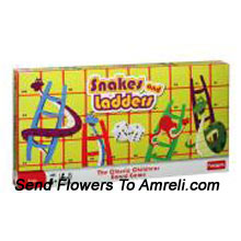 productFunskool Snakes And Ladders. This Game Adds Fun And Merriment To The Classic Children's Game. Suitable For 4 Years And Above Children.