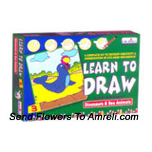 Learn To Draw-3. For The Ones Who Love To Draw. This Kit Is Not Only Fun But Will Also Sharpen Their Thinking Ability. For Children Of Age 4 Years And Above.