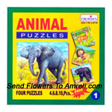 Amazing Animal Puzzle. This Game With Provide Vivid Knowledge To Your Kid About The Animal Kingdom. Fot Children Above 3 Years Of Age.
