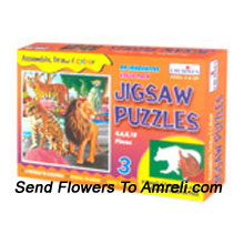 Jig Saw Puzzles. This Will Definitely Enhance Your Kids Knowledge. For The Age Of 3 Years And Above.