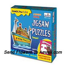 Jig Saw Puzzles. This Will Definitely Enhance Your Kids Knowledge. Suitable For The Age Of 3 Years And Above.