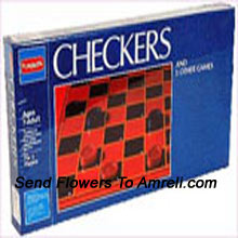 Checkers From Funskool. This Helps Children To Develop Their Brain. For Children Above 7 Years.