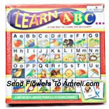 productLearn ABC. This Set Is Very Useful In Teaching Alphabets And The Proper Sequence Of The Letters And The Differece Between Small And Capital Letters. Suitable For Children Above 3 Years And Above.