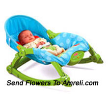 productFisher Price Precious Planet New Born. It Starts As A New Born Seat On Rocker With A Low Profile Position Thst Mom Feels Is A Safe Place To Put The Baby. With The Softgoods Recline Mom Can Position The Baby For Sleeping Or Playing. The Rocker Also Provides Great Convenience For Mom By Folding/Compressing Down And Using The Struts As A Handle.