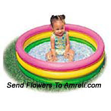 Inflatable Pool For Yor Kid. The Kids Will Enjoy Bathing In This Pool.