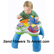 productLearn Fun With Friends Musical Table. This Playset Is Both Interesting And Has Developmental Benefits For Yor Baby. For Children Above 6 Months Of Age.