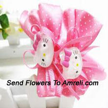 Pair Of Hello Kitty Hair Clips