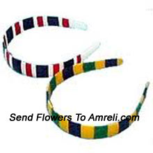 productPair Of Colored Hair Bands