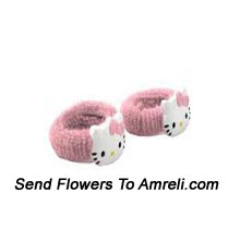 productPair Of Hello Kitty Rubber Bands