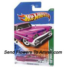 Hot Wheels 1:64 Die Cast Car. For The Age Group Of 3 Years And Above