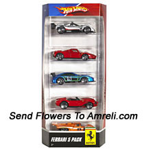 Ferrari Five Pack. For The Age Group Of 3 Years And Above.