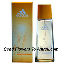 Free Emotion By Adidas. Size-50ml. Its Scent Possesses A Blend Of Aromas Of Lemon, Canadian Apple, Black Currant And Raspberry, Floral Waves Of Freesia, Delicate Rose Petals And Subtle Aromas Of Fresh Lily, Hibiscus And African Green Melon, Cedar, Cotton And Musk.  It Is Recommended For Casual Wear. ( Shipping : Within 3-4 Working Days )