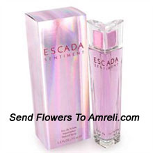 productEscada Sentiment By Escada. Size-75ml. Its Scent Possesses A Blend Of Mandarin, Iris, Vanilla And Sandalwood. ( Shipping : Within 3-4 Working Days )